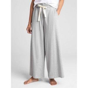 GAP Pleated High Waist Wide Leg Lounge Pants